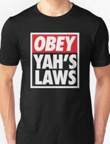 Obey Yah's Laws BLK T-Shirt