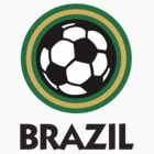 Brazil Football / Soccer by artpolitic