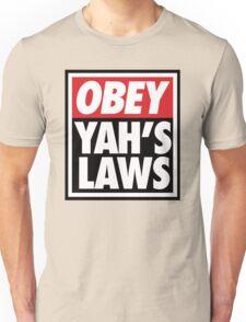 OBEY YAHS LAWS WHT SHIRT T-Shirt