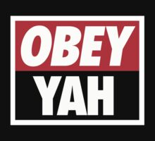 OBEY YAH BLK SHIRT by NatanYah Ysrayl