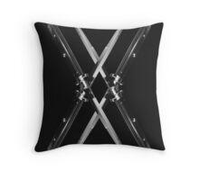 Switch Blade X Throw Pillow
