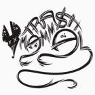 Trash Mammal Black by Bobfleadip