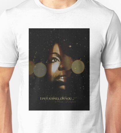 Nina Simone I Put A Spell On You Unisex T-Shirt