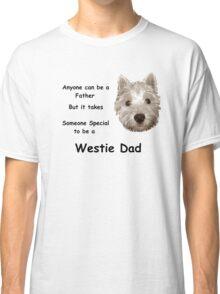 Westie dad Classic T-Shirt