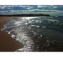 Shimmery beach scene Jones Beach Photographic Print