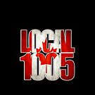 Local 1005 Canada Flag (Black) by Verbal72