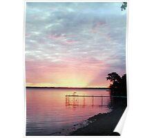 Lake Winnebago Sunrise Poster