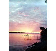 Lake Winnebago Sunrise Photographic Print