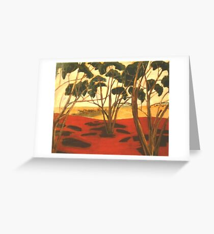 The Highest Hill Greeting Card