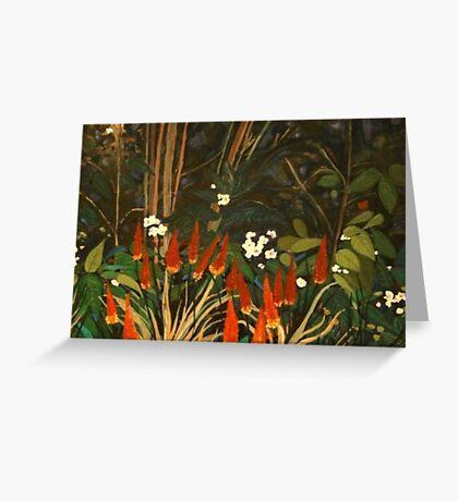 Dream Garden #3. Melbourne Botanical Gardens. Greeting Card