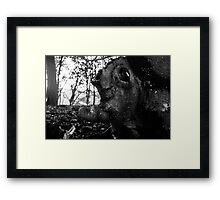 Head In the Trees Framed Print