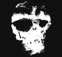 Skully in white by HevyEdHunt