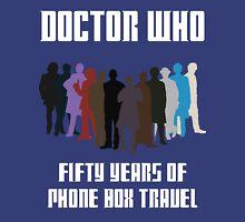 50 Years of Phone Box Travel Unisex T-Shirt