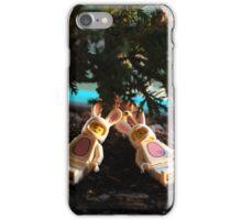 Bunny - Sunset Nap iPhone Case/Skin