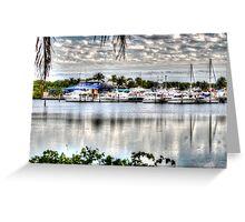 Black Point Marina, FL Greeting Card