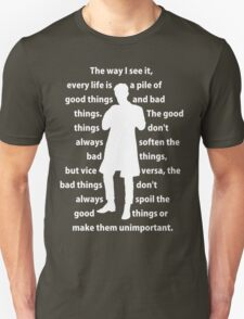 11th Doctor quote shirt T-Shirt