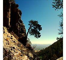 Rocky Cliff Gap Photographic Print