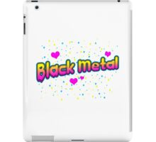 XO Black Metal iPad Case/Skin