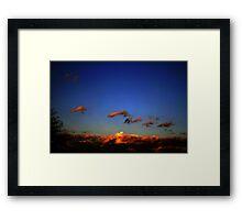 Sonoran Desert Dawn Framed Print