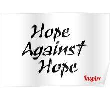 Hope Against Hope Poster