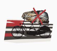 NO RABBITS ON TANDEM BICYCLE Kids Tee