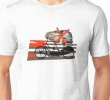 NO RABBITS ON TANDEM BICYCLE Unisex T-Shirt