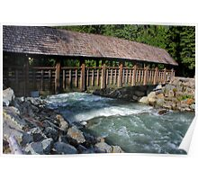 Fitzsimmons Creek and bridge Poster