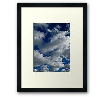 December Sky (2631) Framed Print