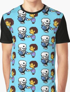 Sans and Frisk Graphic T-Shirt