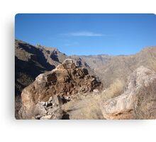 Sabino Canyon Canvas Print