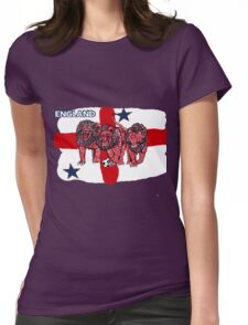 World Cup England Soccer (Football) Womens Fitted T-Shirt