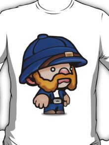 Spelunky - Blue Hunter T-Shirt