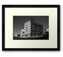 Tonopah, Nevada - Mizpah Hotel Framed Print