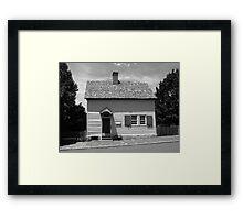 Old Salem Store Framed Print