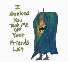 Batman's Facebook Friend's List Kids Clothes