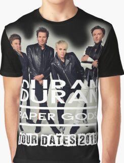 DURAN DURAN PAPER GODS TOUR DATES 2016 Graphic T-Shirt