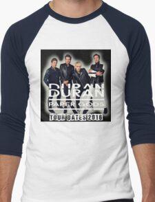 DURAN DURAN PAPER GODS TOUR DATES 2016 Men's Baseball ¾ T-Shirt