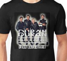 DURAN DURAN PAPER GODS TOUR DATES 2016 Unisex T-Shirt
