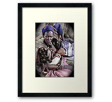 Malakal Mama Framed Print