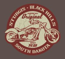 Sturgis, South Dakota (Vintage Distressed Design) T-Shirt