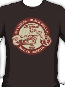 Sturgis, South Dakota (Vintage Distressed Design) T-Shirt
