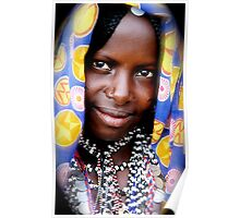 A Fallata woman in all her finery Poster