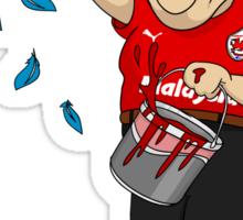Vince Tan Cardiff City Sticker