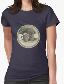 Olde Shire Brew - Entwash Womens Fitted T-Shirt