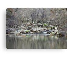 Unami Creek  Green Lane  Pennsylvania  USA Canvas Print