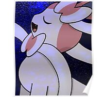 Sylveon in the Night Poster