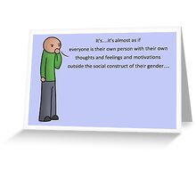 Interpretation Postcard Greeting Card