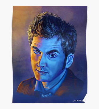 Doctor Who Tenth Doctor - Intense Poster