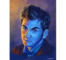 Doctor Who Tenth Doctor - Intense Photographic Print