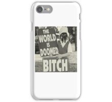 The World Is MF DOOMED iPhone Case/Skin